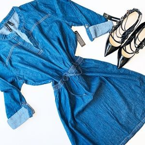 NWT ND NEW DIRECTIONS DENIM Dress